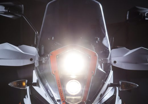 KTM 1090 RR LED headlights