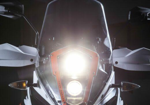 KTM 1090 RR LED headlights