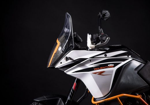 KTM 1090 rally windscreen