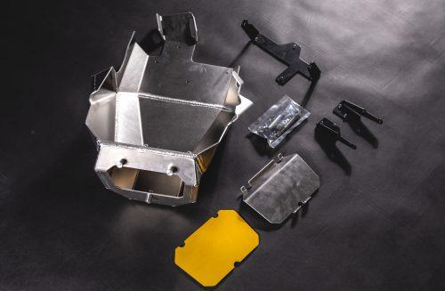 KTM 1090 skid plate set