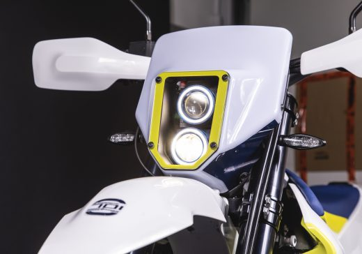 Husqvarna 701 LED headlights