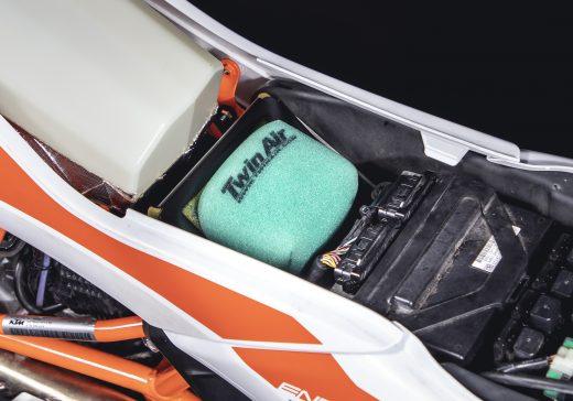 KTM 690 airbox foam filter