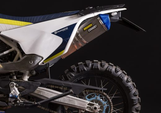 Husqvarna 701 racing exhaust