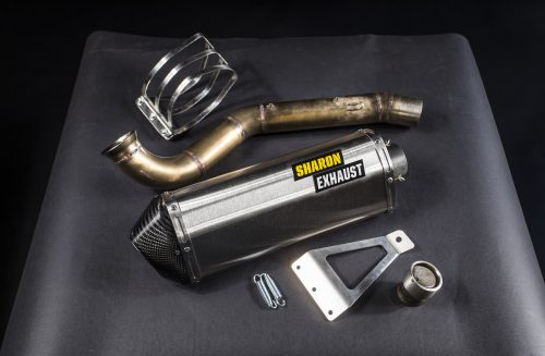 KTM 790 Exhaust and rally pipe