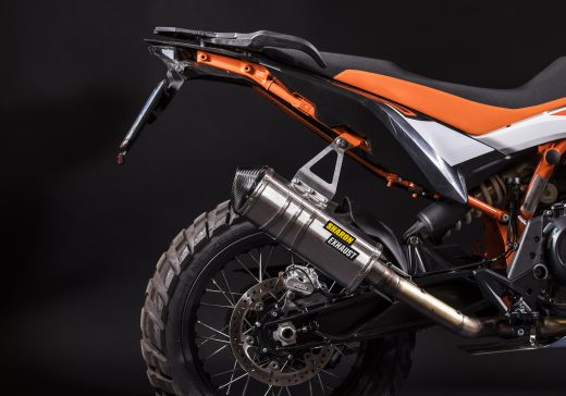 KTM 790 R rally exhaust