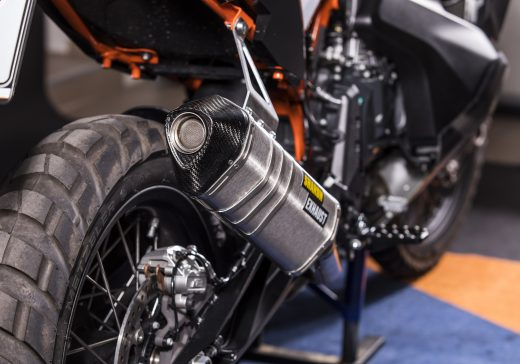 KTM 790 racing exhaust