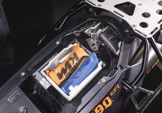 KTM 990 Adventure Storage box