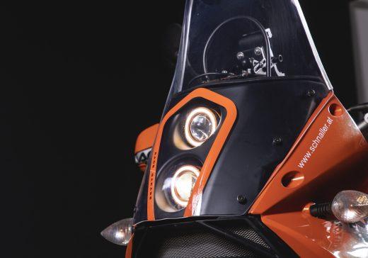 KTM 990 LED headlights