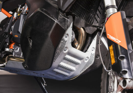 KTM 790 carbon tank covers