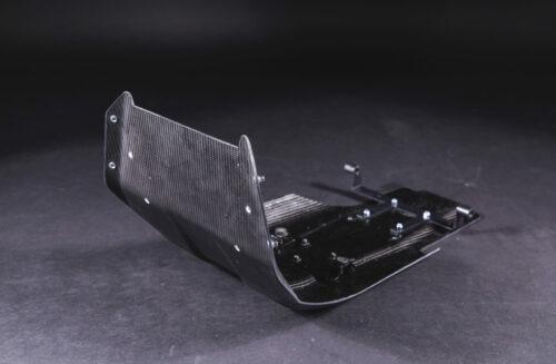 KTM 790 carbon bashplate