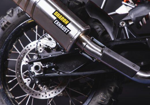 KTM 790 exhaust
