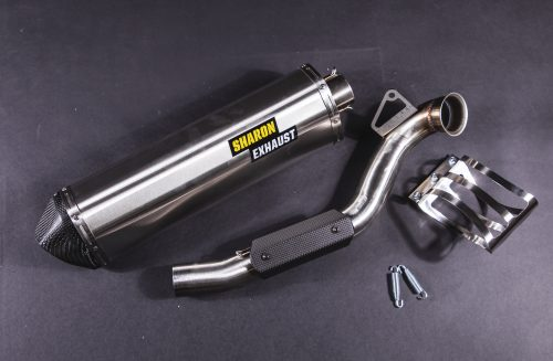 KTM 790 rally exhaust sharon