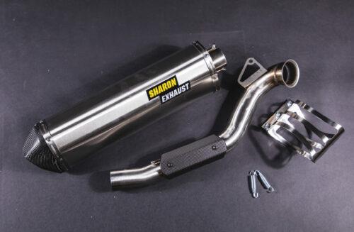 KTM 790 rally exhaust sharon