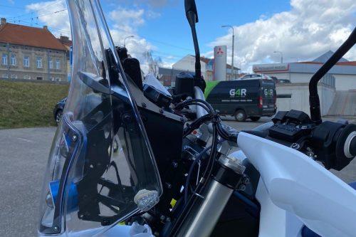Husqsvarna LR cockpit