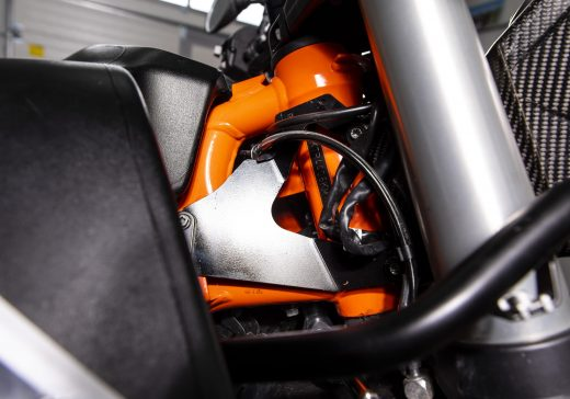 KTM 790 neck reinforcement RADE:GARAGE