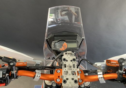 KTM 690 cockpit RADE:GARAGE