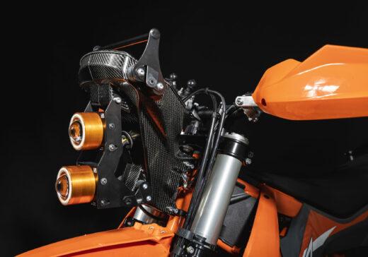 KTM 690 LED headlights RG
